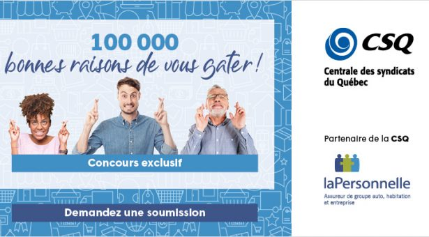 CONCOURS EXCLUSIF –  Les protections RésAut CSQ – Plus de 2 000 $ en prix