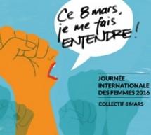 Journée internationale des femmes 2016