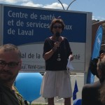 Manif intersyndicale contre les coupures - CSL 25-07-2014