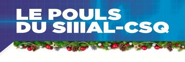 Le POULS du SIIIAL – Volume 10 – No 1  /  Décembre 2020