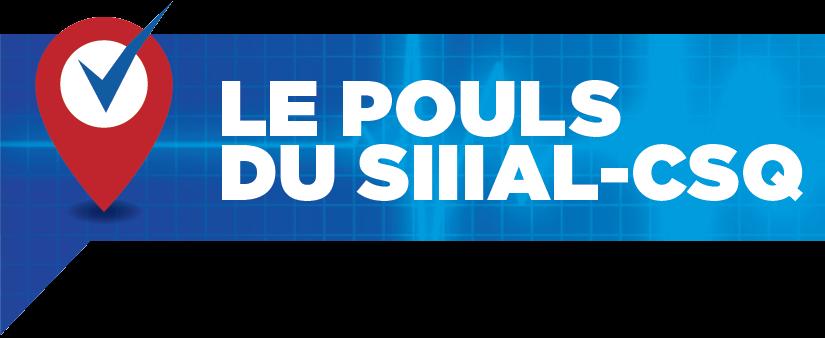 Le POULS du SIIIAL-CSQ – Octobre 2016 – Volume 8, No 9