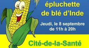 ÉPLUCHETTE DE BLÉ D'INDE – 8 septembre à la CSL