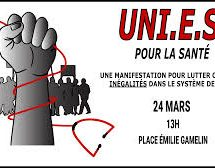 Manifestation pour lutter contre les inégalités dans le système de santé